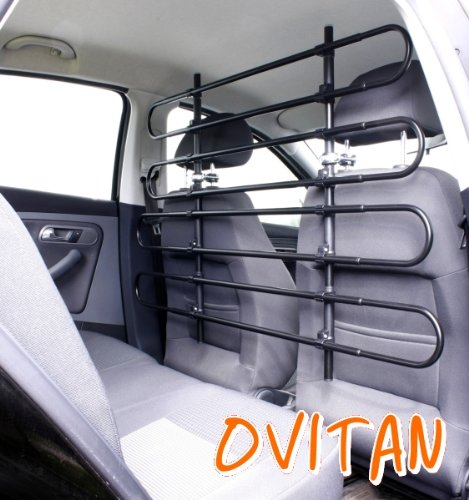 ovitan hundegitter frs auto 8 streben universal zur befestigung an den kopfsttzen der. Black Bedroom Furniture Sets. Home Design Ideas
