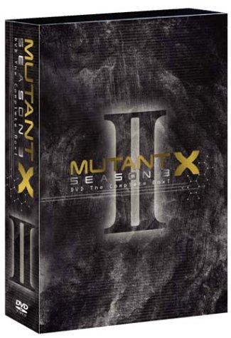 ミュータントX シーズン3 DVD The COMPLETE BOX II