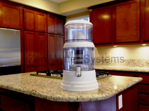 Review Of 4 Gallon Countertop Water Filter - Transform Tap Water to Premium Alkaline Mineral Drinkin...