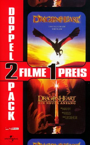 Dragonheart & Dragonheart - Ein neuer Anfang [VHS]
