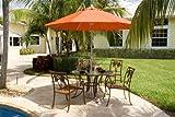 Chub Cay Patio 5 Piece Table and Arm Chair Set