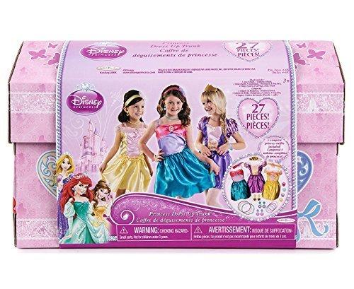 Disney-Princess-Dress-Up-Trunk-Ariel-Belle-Rapunzel-Outfits-Jewelry-27-Pieces