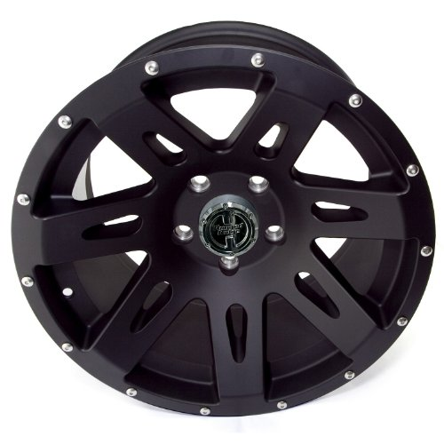 "Rugged Ridge 15301.01 17"" X 9"" Xhd Black Satin Wheel"