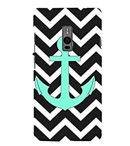 Anchor 3D Hard Polycarbonate Designer Back Case Cover for OnePlus 2 :: OnePlus Two :: One +2