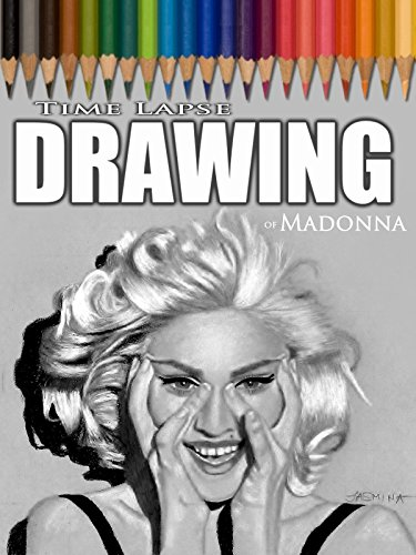 Clip: Time Lapse Drawing of Madonna
