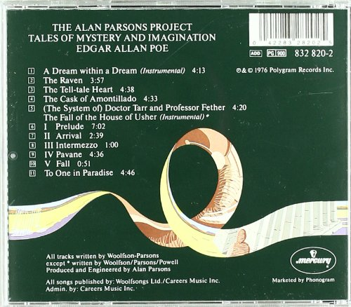 Tales of Mystery and Imagination-Alan Parsons Project