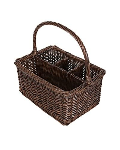 KAF Home Woven Willow Utensil Caddy