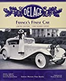 img - for Delage. France's Finest Car. book / textbook / text book