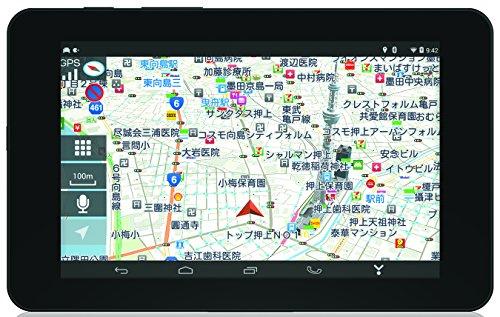 ユピテル 7.0型ワンセグ内蔵車載対応タブレットカーナビ Yupiroid