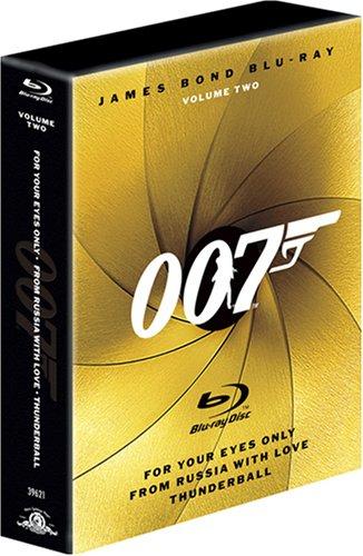 007 ブルーレイディスク 3枚パック Vol.2 [Blu-ray]