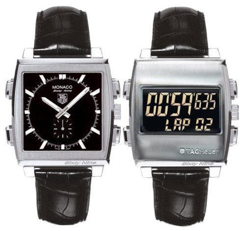Мужские наручные часы TAG Heuer Men's CW9110.FC6177 Monaco 69 Ana-Digi Chronograph Watch
