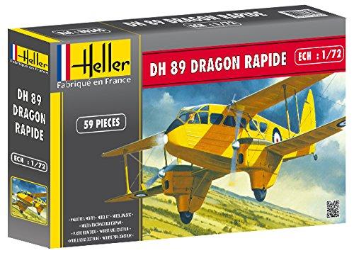 heller-80345-construction-et-maquettes-dh-89-dragon-rapide-echelle-1-72eme