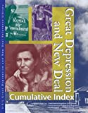 Great Depression and New Deal: Reference Library Cumulative Index (0787665363) by McNeill, Allison