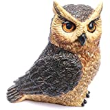 Harmony Ball Pot Belly Series GREAT HORNED OWL (PBZOW4)