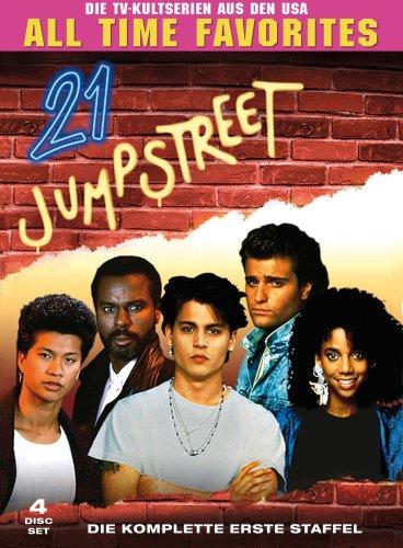 21 Jump Street - Die komplette erste Staffel (Digipack, 4 DVDs)