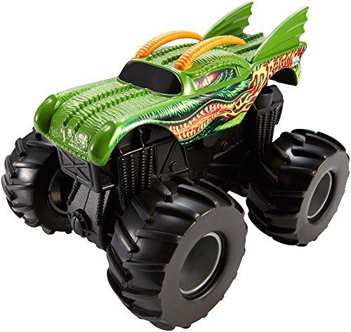 Hot Wheels Monster Jam Rev Tredz Dragon Vehicle - 1