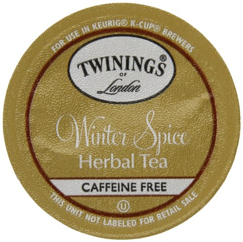 Twinings Of London K-Cup Portion Pack For Keurig K-Cup Brewers Winter Spice Tea, 12 Count (Pack Of 6)