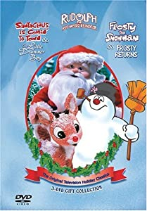 Santa Claus Is Comin To Townthe Little Drummer Boyrudolph The Red-nosed Reindeerfrosty The Snowmanfrosty Returns 3-dvd Gift Collection by Sony Wonder (Video)