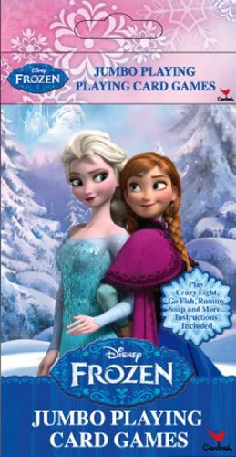 Disney Frozen Jumbo Playing Card Games (styles may vary) - 1