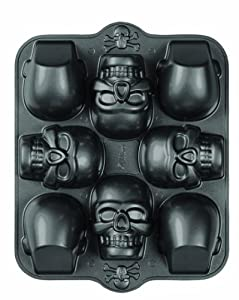 Amazon Com Wilton 2105 0607 Dimensions 8 Cavity 3d Skull