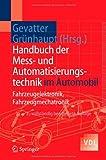 img - for Handbuch der Mess- und Automatisierungstechnik im Automobil: Fahrzeugelektronik, Fahrzeugmechatronik (VDI-Buch) (German Edition) book / textbook / text book