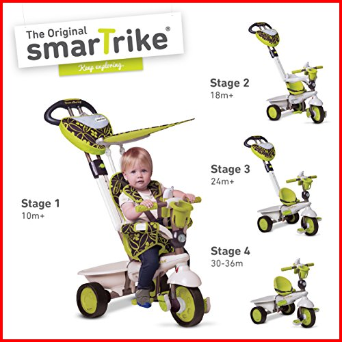 Smart Trike Dream 4-in-1 Tricycle - Green
