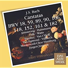 Cantata No.161 Komm, Du Ssse Todesstunde BWV161 : IV Recitative - ''Der Schluss Ist Schon Gemacht'' [Alto]