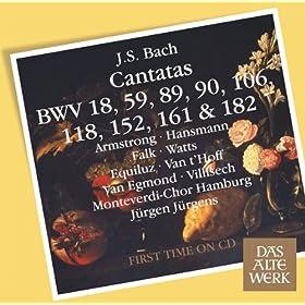 Cantata No.59 Wer Mich Liebet, Der Wird Mein Wort Halten BWV59 : II Recitative - ''O, Was Sind Das Vor Ehren'' [Soprano]
