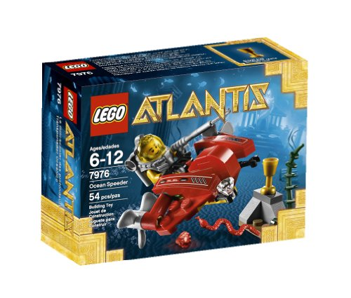 LEGO Atlantis Ocean Speeder 7976 - 1