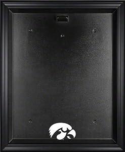 Iowa Hawkeyes Framed Logo Jersey Display Case by Sports Memorabilia