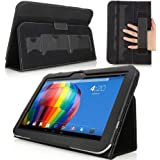 MoKo Toshiba Excite Pure AT15 10.1 Case - Slim Folding Cover Case for Toshiba Excite Pure AT15 10.1 Inch Android Tablet, BLACK