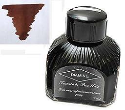 Diamine Refills Saddle Brown Bottled Ink 80mL - DM-7046