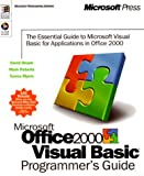 D. Shank Microsoft Office 2000/Visual Basic Programmer's Guide (Microsoft Professional Editions)