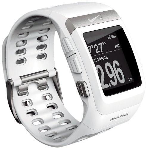 Nike+ SportWatch GPS Powered by TomTom (White) Running Gps