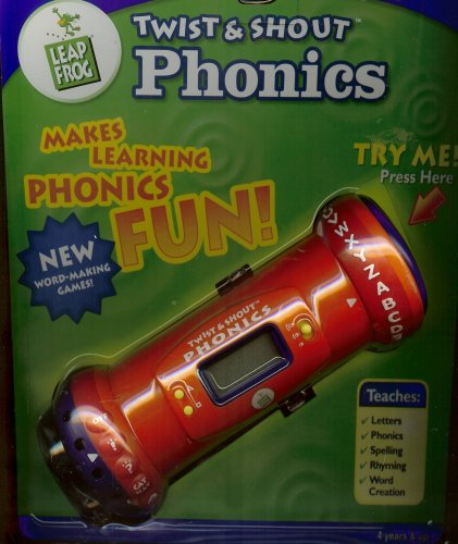 LeapFrog Twist & Shout Phonics (Handheld Learning Toy) - Buy LeapFrog Twist & Shout Phonics (Handheld Learning Toy) - Purchase LeapFrog Twist & Shout Phonics (Handheld Learning Toy) (LeapFrog Enterprises, Inc., Toys & Games,Categories,Electronics for Kids,Learning & Education,Toys)