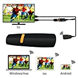 Aerb Multi OS Wireless WiFi Dongle HDMI Adapter Support EZCast Miracast DLNA for Sharing Videos Images Docs Camera... by Aerb