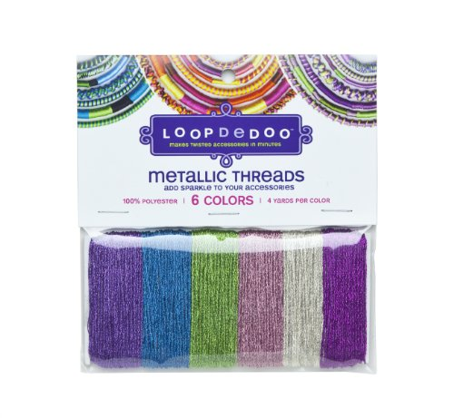 Check Out This Loopdedoo Metallic Thread