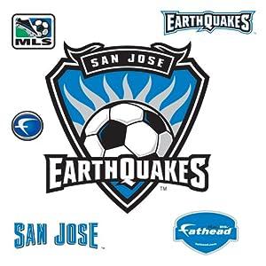 MLS San Jose Earthquakes Logo Wall Graphic by Fathead