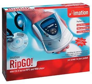 Imation RipGO! Mini CD-R Burner & Digital Audio Player