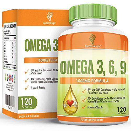 earths-design-omega-3-olio-di-pesce-1000mg-epa-e-dha-ultra-efficaci-per-la-salute-di-cervello-cuore-