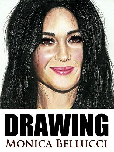 Clip: Drawing Monica Bellucci