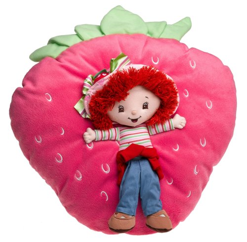 Strawberry Shortcake Sweet Plush Decorative Pillow front-48054