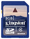 Kingston SD4/8GB 8GB SDHC Memory Card