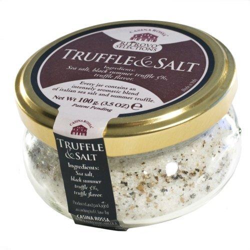 Casina Rossa Truffle and Salt by Nicola de Laurentiis, 3.5 oz (Truffle Salt 10 Percent compare prices)