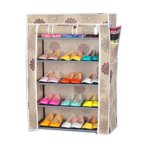 Evana five layer shoe rack