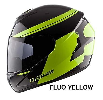 LS2 FF351 FF352 BLANC OU JAUNE FLUO FULL FACE CASQUE DE MOTO 351
