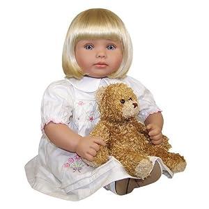 Amazon Com Molly P Originals Zoe Doll With Daisy Bear