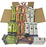 Healthy Sweet & Salty Snack Bar Gift Box of 50 (Kashi, Nature Valley, Quaker)