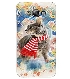 PrintDhaba Cat D-3179 Back Case Cover for SAMSUNG GALAXY GRAND 3 (Multi-Coloured)