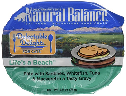 Natural Balance Delectable Delights Life's A Beach Cat Paté Formula